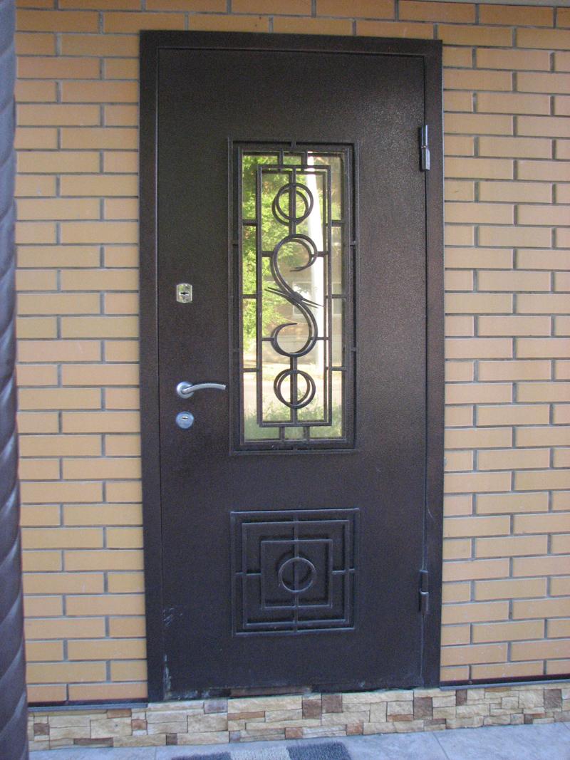 москва дверь металлическая с ковкой